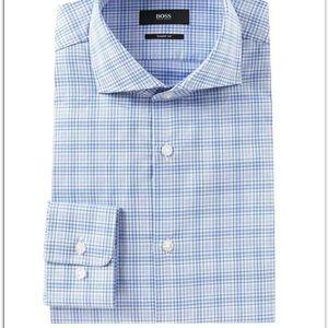 EUC Hugo boss shirt regular fit Sz.  16- 34/35